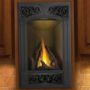 The GD19 Napoleon Vittoria Direct Vent Fireplace is perfect for entrances and corner wall installations