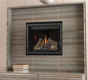 The HD35 Clean Face Napoleon Direct Vent Fireplace features a simple yet sophisticated design