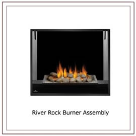 HD81 See Thru Napoleon Gas Fireplace
