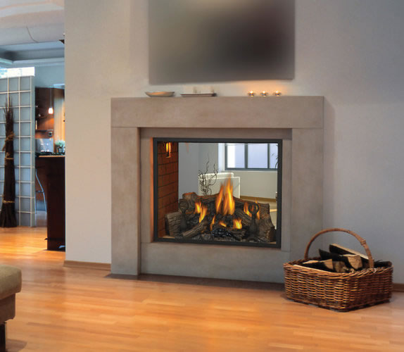 Hd81 See Thru Napoleon Gas Fireplace By Obadiah 39 S Woodstoves