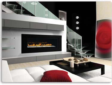 LHD50 Linear Napoleon Gas Fireplace