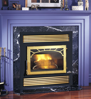 Attractive NZ26 Napoleon Wood Burning Fireplace