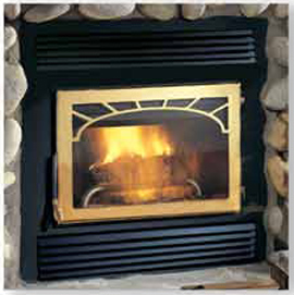 NZ26 Napoleon Wood Burning fireplace