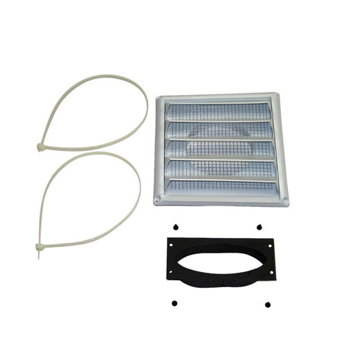 Fresh air intake kit for Osburn 1700 Fireplace Insert