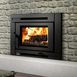 Osburn matrix wood insert by obadiah 39 s woodstoves for Modern wood burning insert
