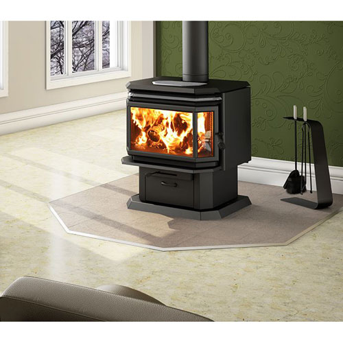 2200 Osburn Bay Window Wood Stove - Discontinued