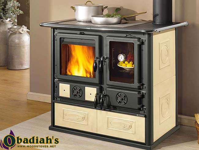 la nordica rosa reverse wood cookstove by obadiah 39 s woodstoves. Black Bedroom Furniture Sets. Home Design Ideas