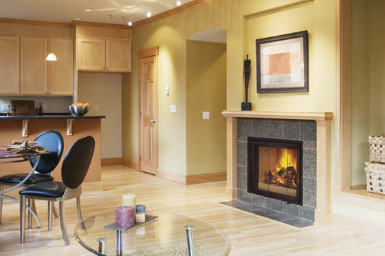 Le Laval Zero Clearance Security Fireplace