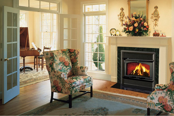 HE43-2 Zero Clearance Security Fireplace