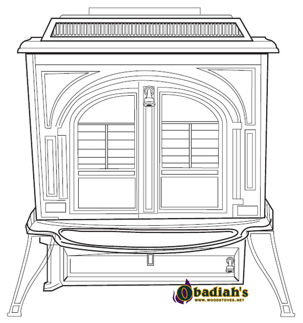 Vermont Castings Vigilant Coal Stove - Discontinued